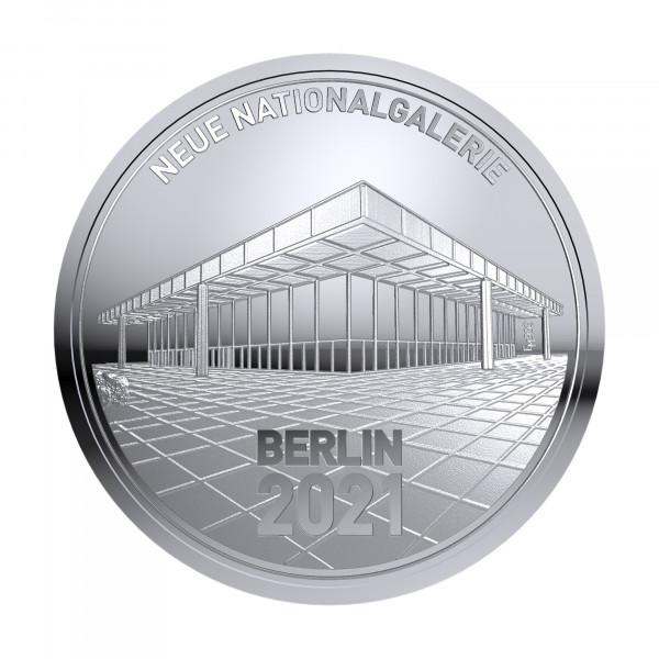 Sonderprägung Neue Nationalgalerie - Silber